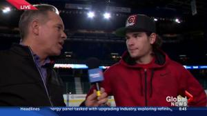 Live on location at the Saddledome: Sean Monahan